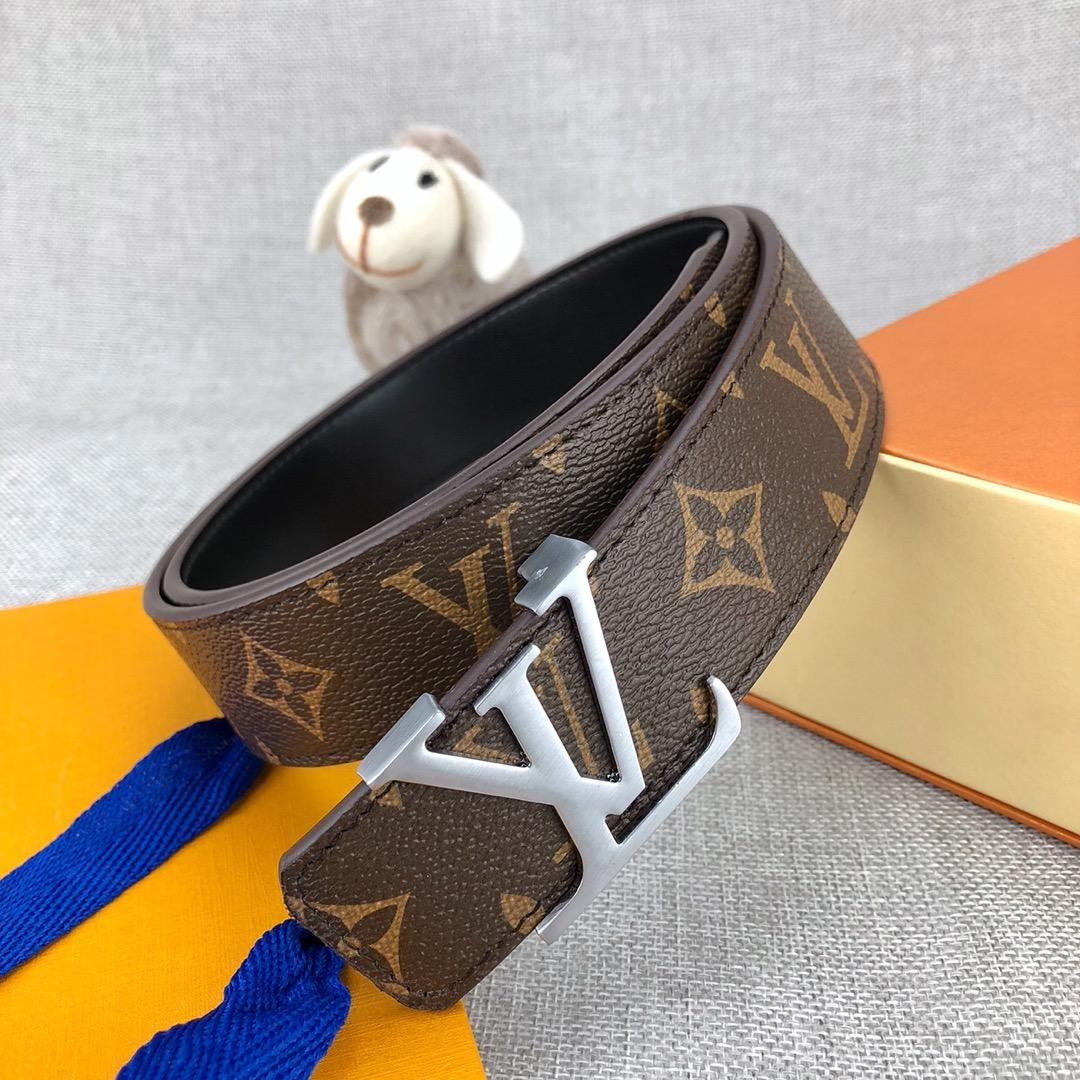 LOUIS VUITTON LV INITIALES 34MM REVERSIBLE 2 COLORS