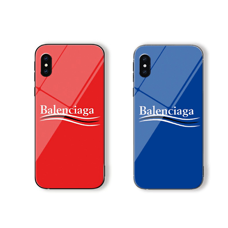 Balenciaga(バレンシアガ) iPhone XS Max、XS、XR、X、7/8、7/8 Plus、6/6s、6/6s Plus ケース 2色