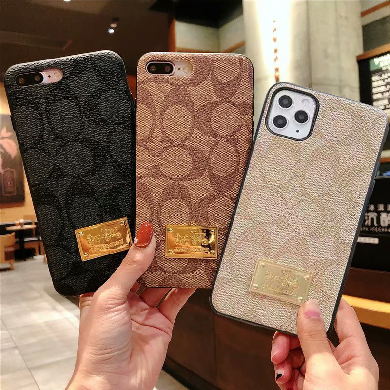 コーチ  Logo  iPhone6/6s, iPhone6/6s plus,iPhone7/8, iPhone7/8 plus,iPhone X,iPhone XS Max,iPhone XR ,iPhone XS ケース