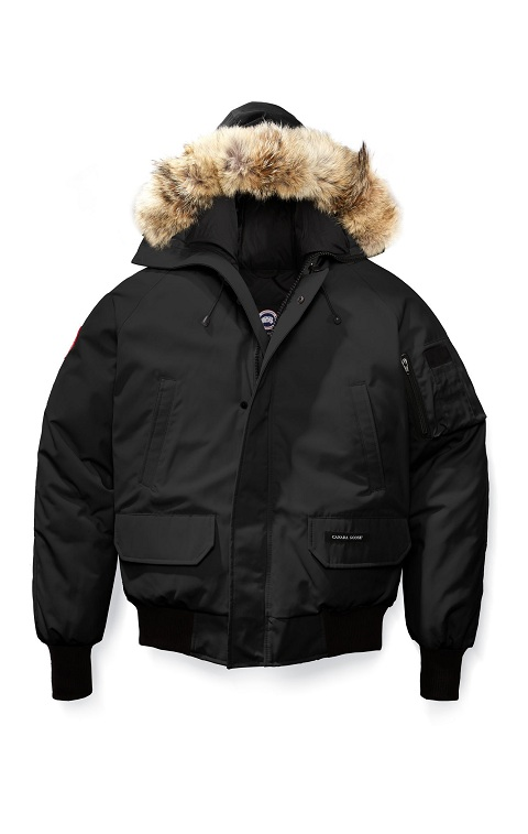 Men's Canada Goose Chilliwack Bomber Fusion Fit Black
