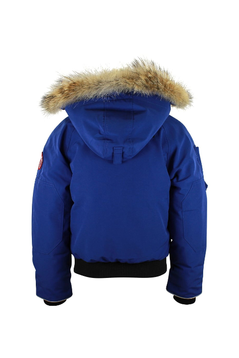 19883d5ab377 Youth Canada Goose Rundle Bomber Pacific Blue  Canada-Goose1422L4 ...