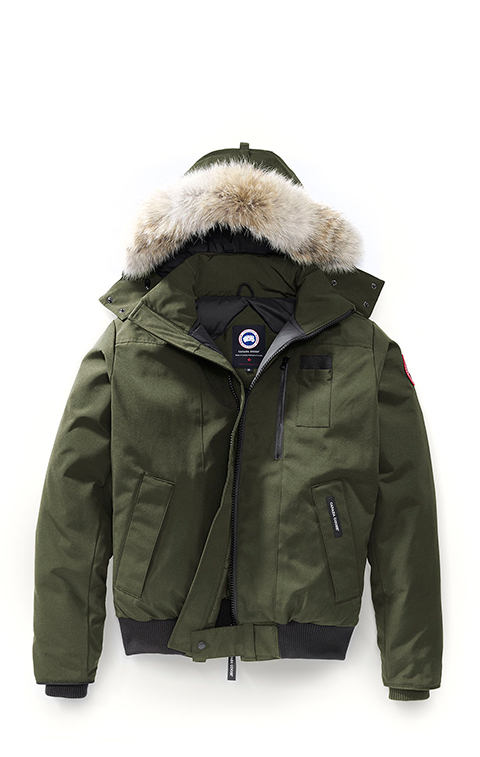 カナダグース メンズ パーカー&ボンバー Canada Goose Men's Borden Parka Military Green