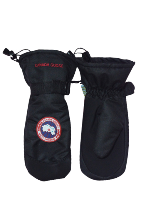 カナダグース 男女兼用 手袋 Canada Goose Men Women's Down Mitts Black