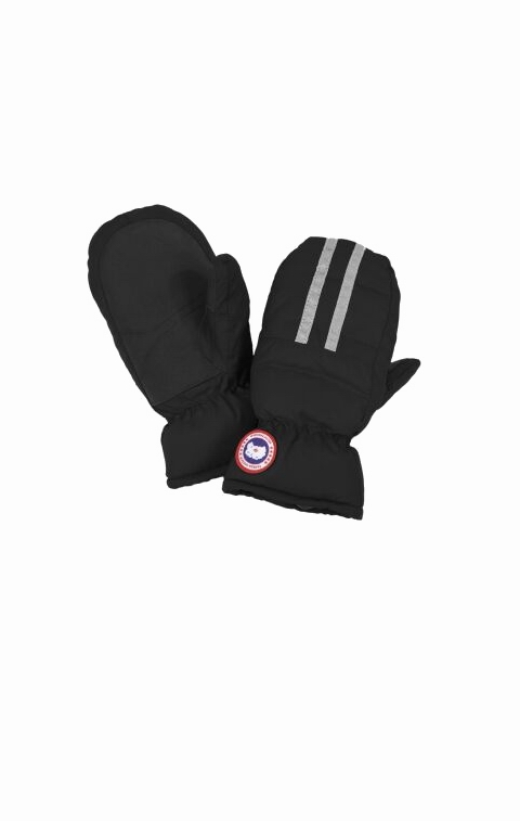 カナダグース キッズ 手袋 Canada Goose Kid's Down Mitts Black