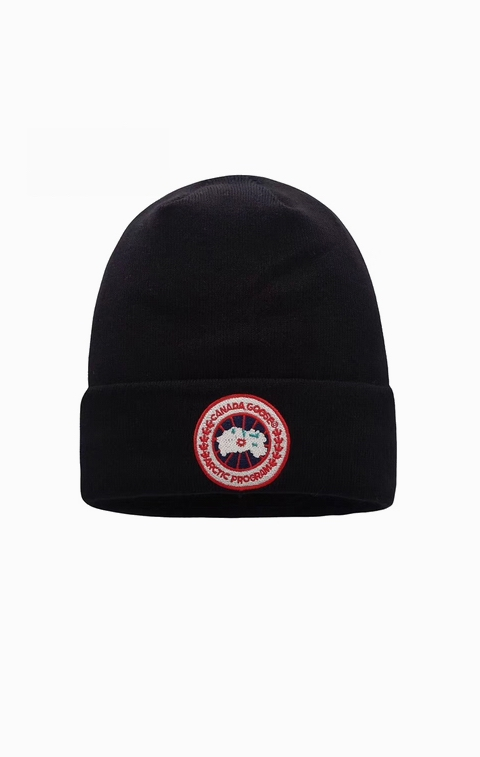 カナダグース 男女兼用 キャップ Canada Goose Men Women's Classic Toque Black