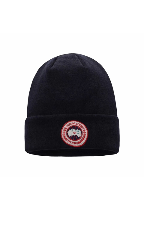 カナダグース 男女兼用 キャップ Canada Goose Men Women's Classic Toque Navy