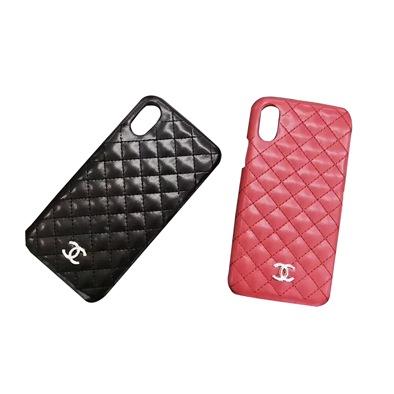 CHANEL(シャネル) iPhone X、7/8、7/8 Plus、6/6s、6/6s Plus ケース 2色