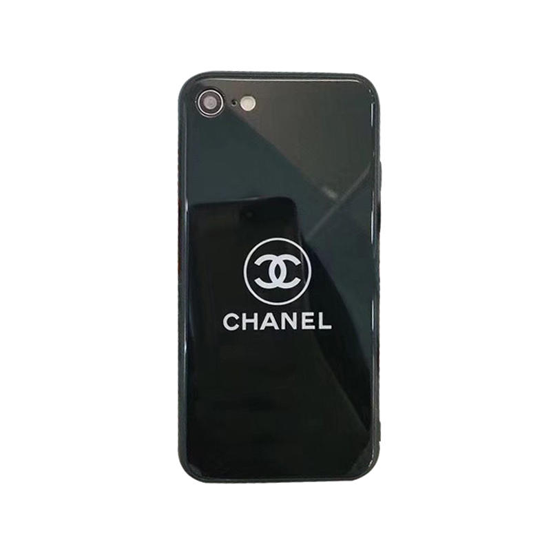 CHANEL(シャネル) ロゴ iPhone 11 Pro Max、11 Pro、11、XS Max、XS、XR、X、7/8、7/8 Plus、6/6s、6/6s Plus ケース 2色