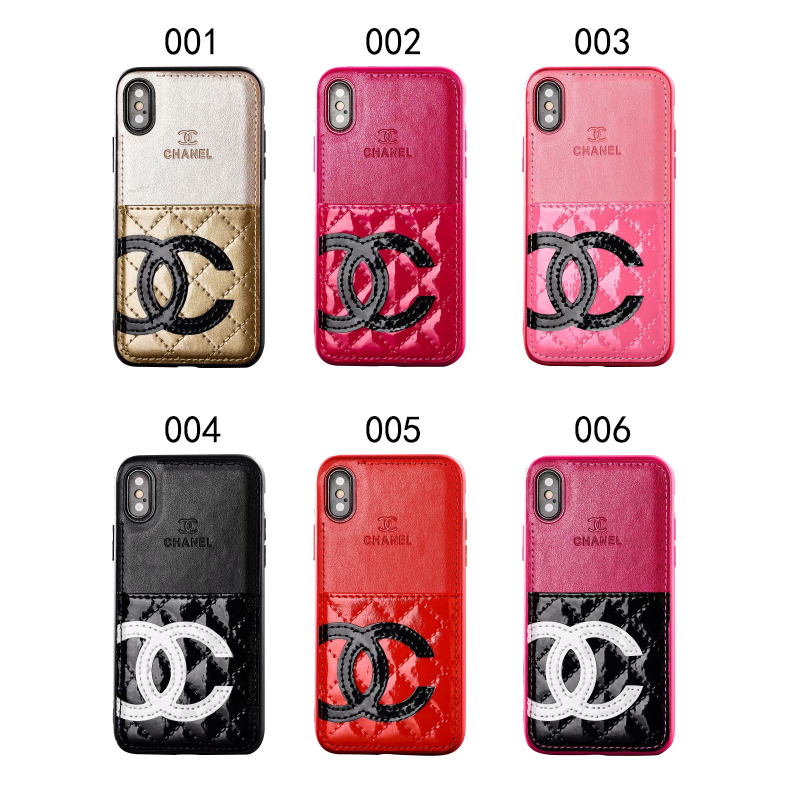 CHANEL(シャネル) iPhone XS Max、XS、XR、X、7/8、7/8 Plus、6/6s、6/6s Plus CCロゴ ケース 6色