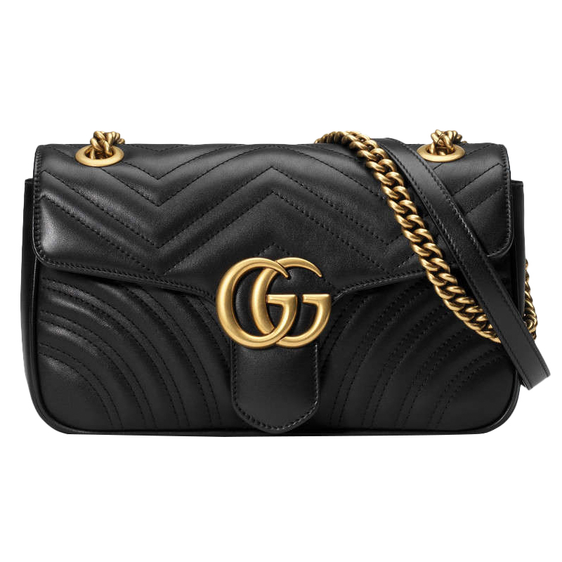 GUCCI GG Marmont small chain shoulder bag