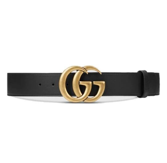 GUCCI Double G buckle belt for men and women