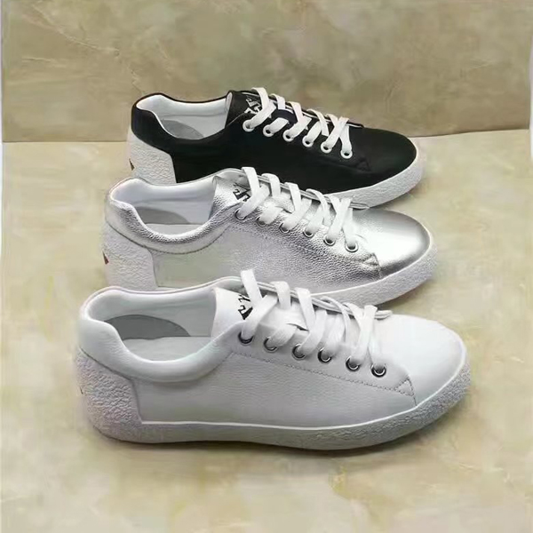 17SS Hermes ASH Ladies White Shoes  3 Color
