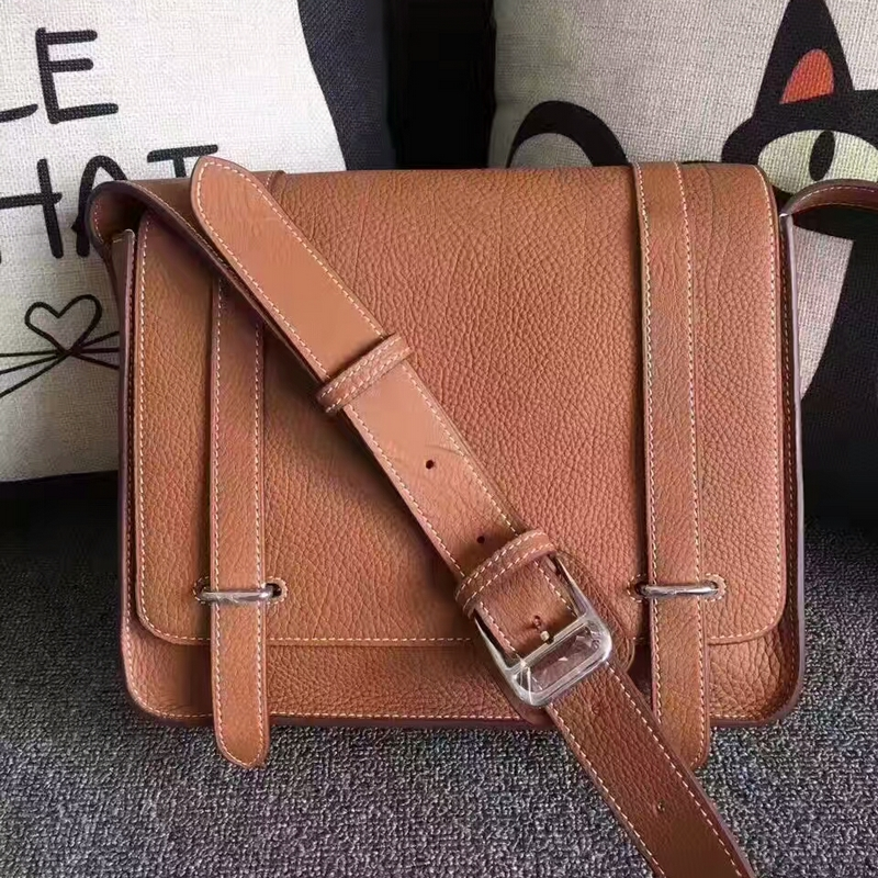 Hermes Men's Casual Crossbody Shoulder Bag