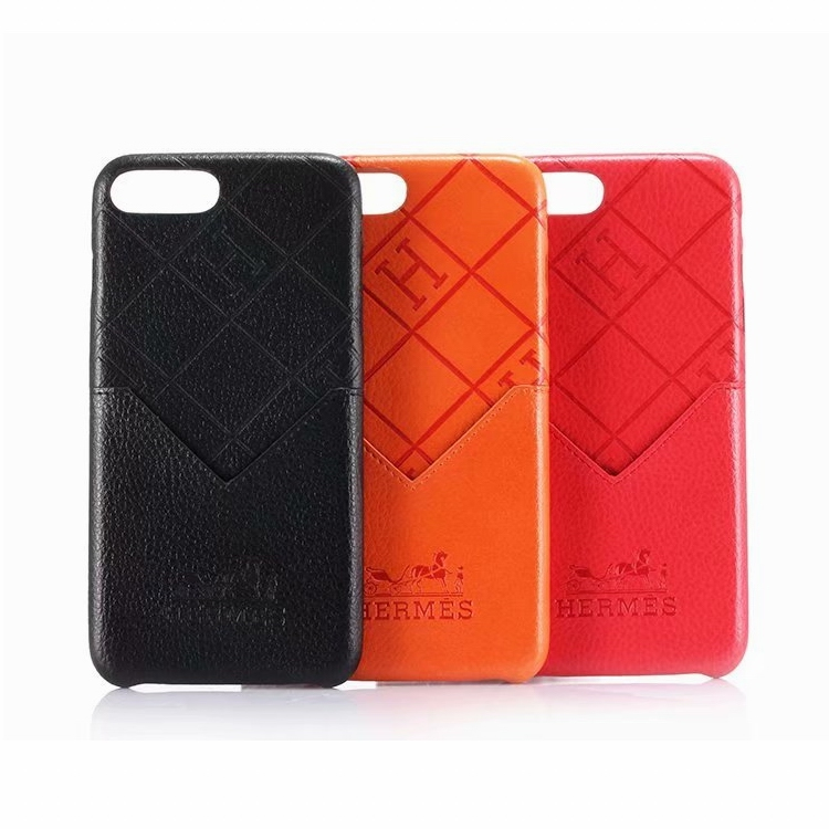 Hermes(エルメス) iPhone X、XS、XS Max、XR、8、8 Plus、7、7 Plus、6/6s、6/6S Plus ケース 3色