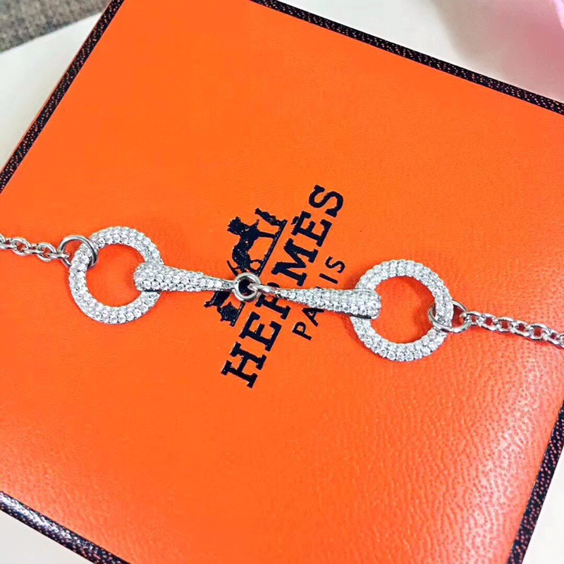New Arrival Hermes Double Buckle ブレスレット