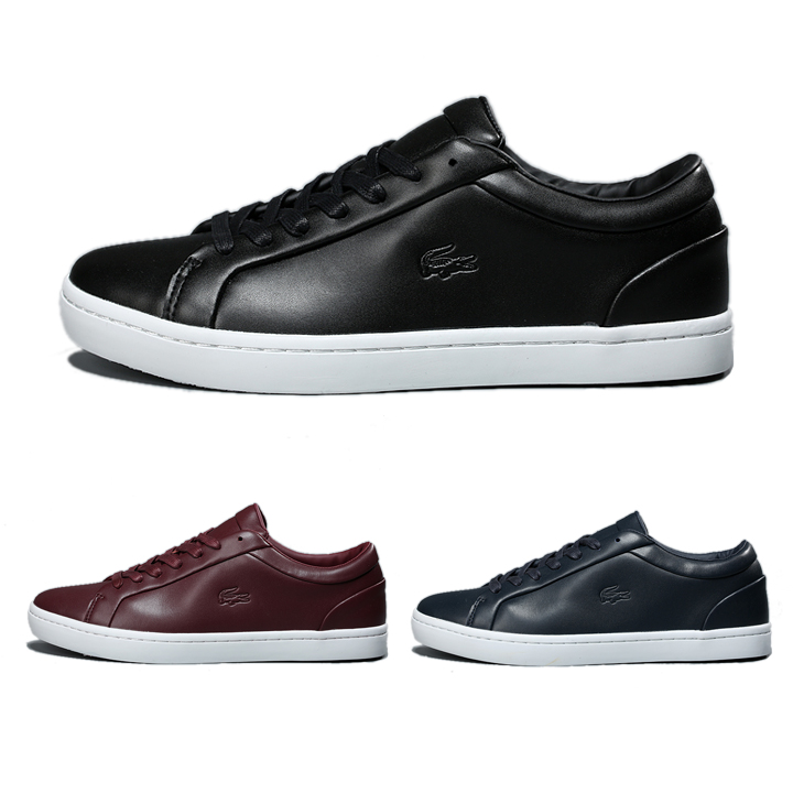 Lacoste (ラコステ) メンズ Leather Sneakers 3色