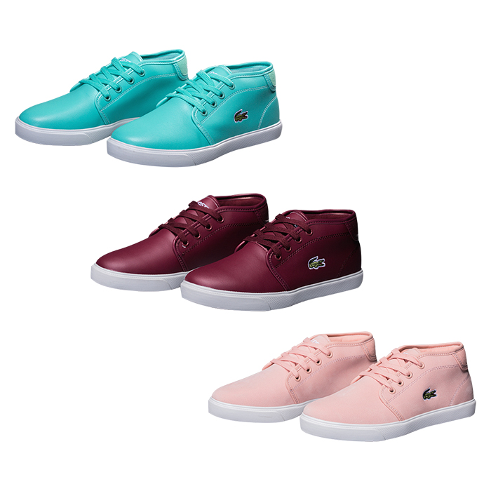 Lacoste (ラコステ) レディース レザー Sneakers 靴 3色