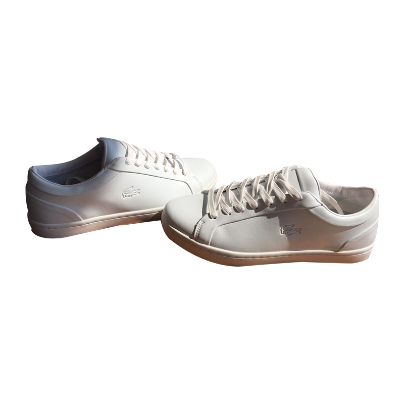 Lacoste (ラコステ) メンズ レザー Sneakers 靴