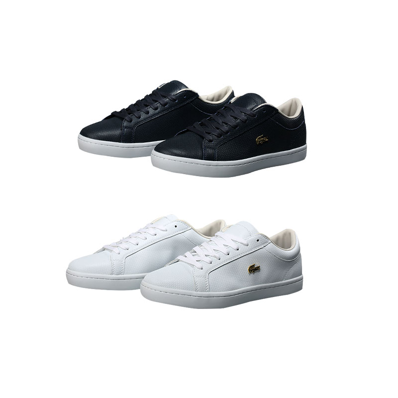 Lacoste (ラコステ) メンス レザー Sneakers Classic 靴 2色