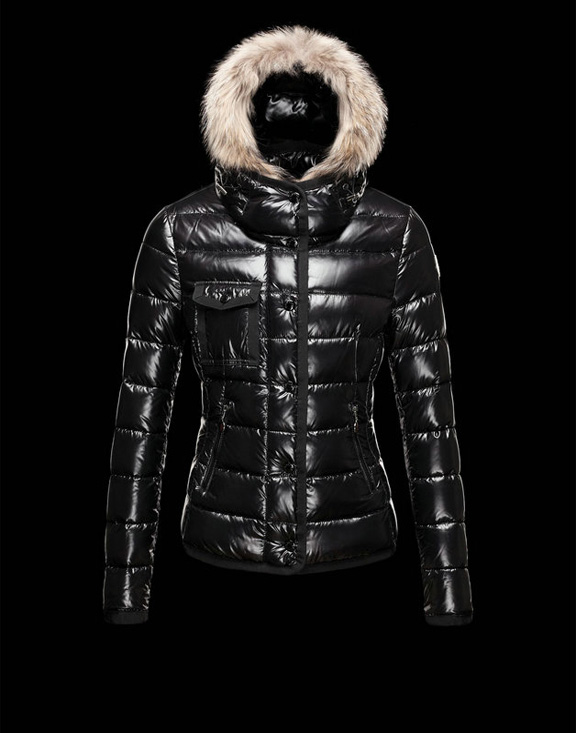 Women Moncler Down Jackets Armoise Black