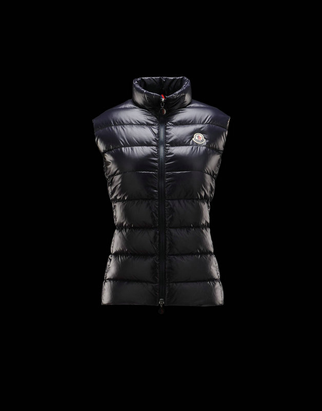 Women Moncler Vests Ghany Blue