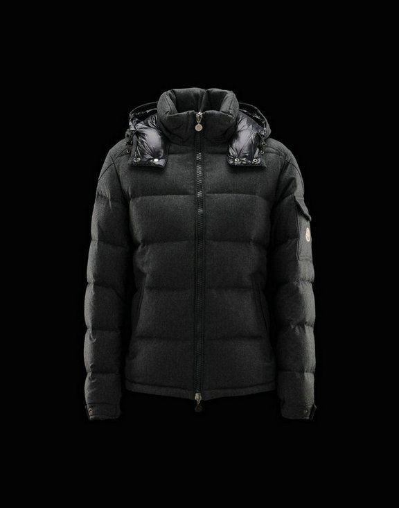 Men Moncler Jackets & Coats Montgenevre Steel Grey