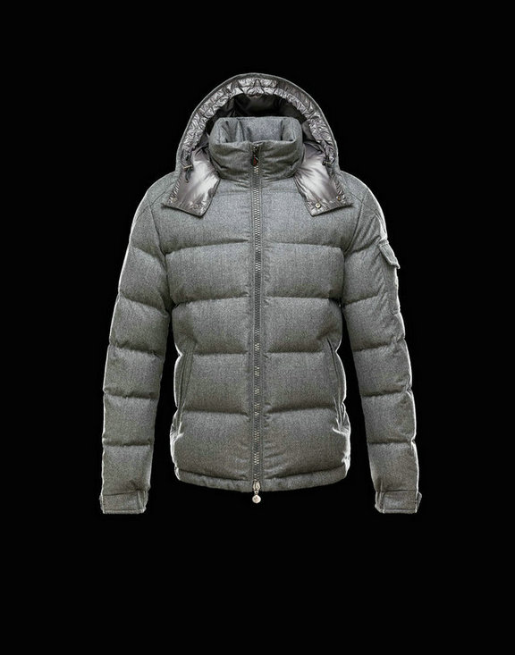 Men Moncler Jackets & Coats Montgenevre Grey