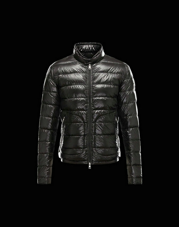 Men Moncler Down Jackets Acorus Black