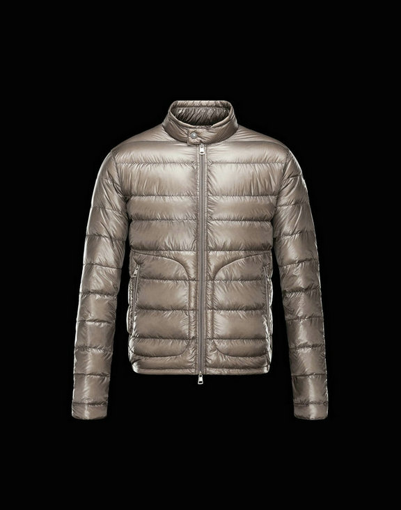 Men Moncler Down Jackets Acorus Gold