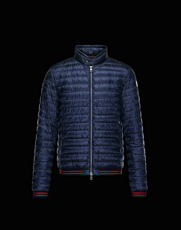 Men Moncler Down Jackets David Dark Blue