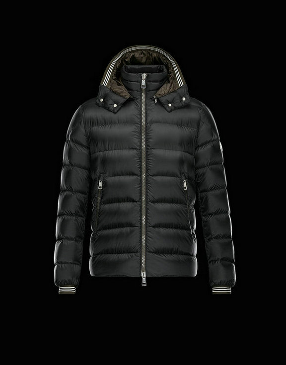 Men Moncler Down Jackets Thoule Black