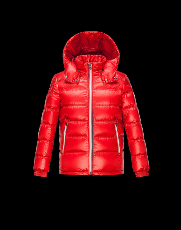 Moncler Kids Down Jackets Gaston Red