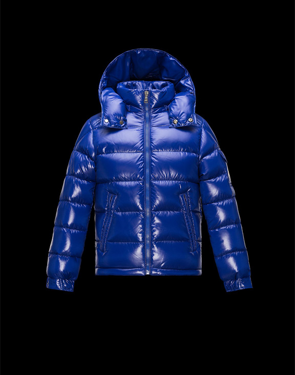 Moncler Kids Maya Bright Blue