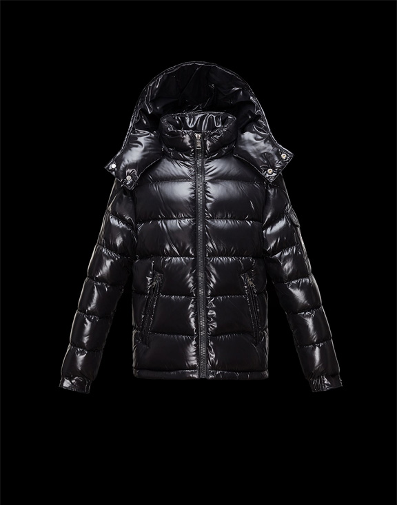 Moncler Kids Down Jackets Maya Black