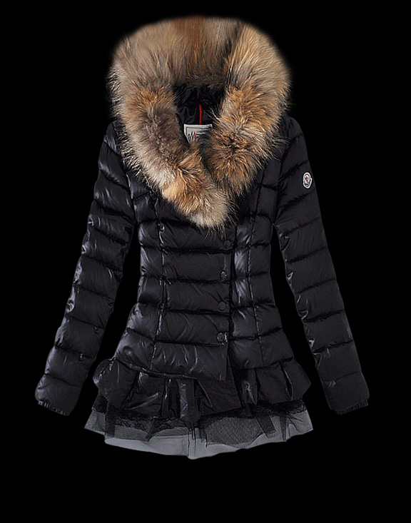 Women Moncler Down Jackets Black