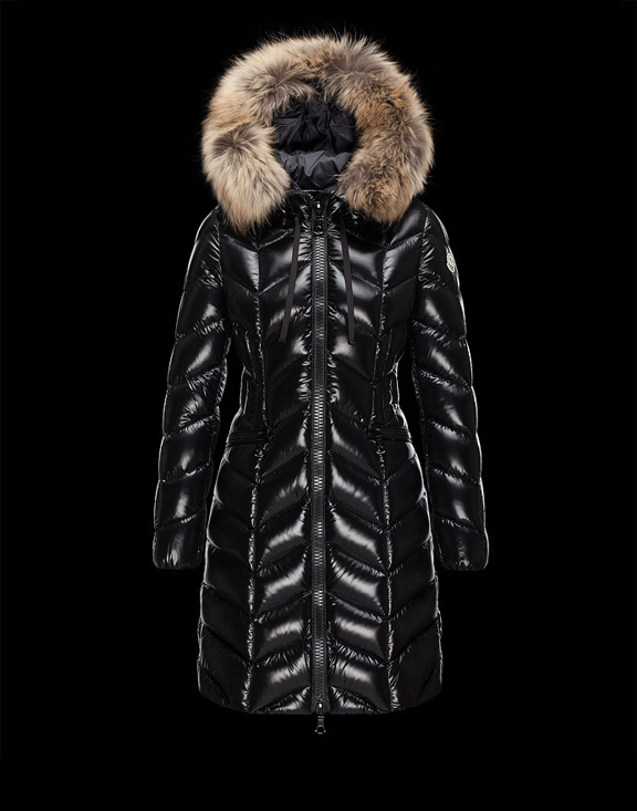 Women Moncler Down Jackets Maya Black
