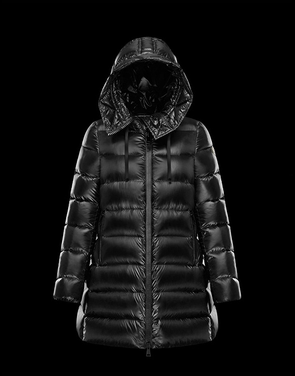Women Moncler Down Jackets Suyen Black