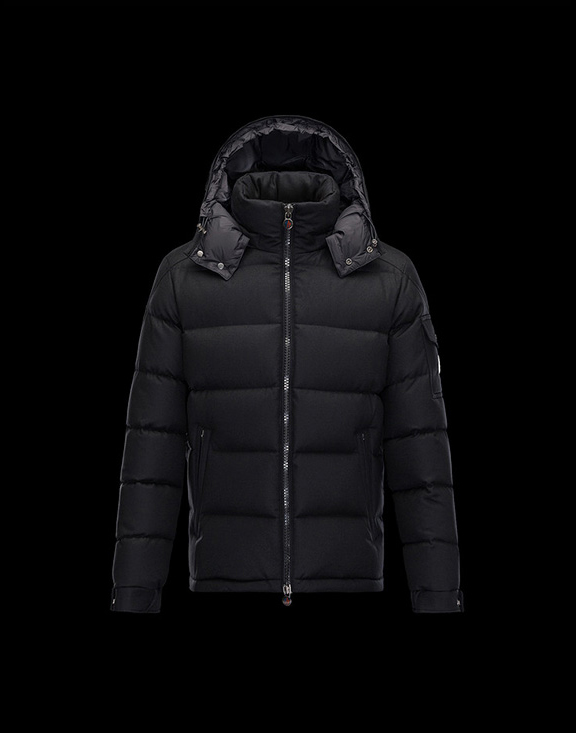 【2017-18AW】Men Moncler Down Jackets Montgenevre Steel Black