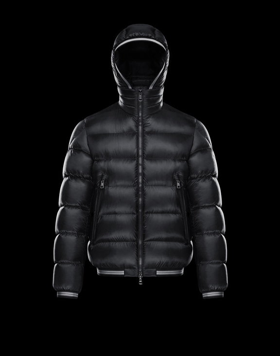 Men Moncler Down Jackets JEANBART Black