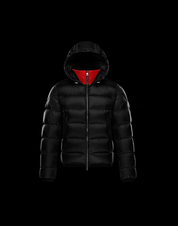 Men Moncler Down Jackets CLAMART Black