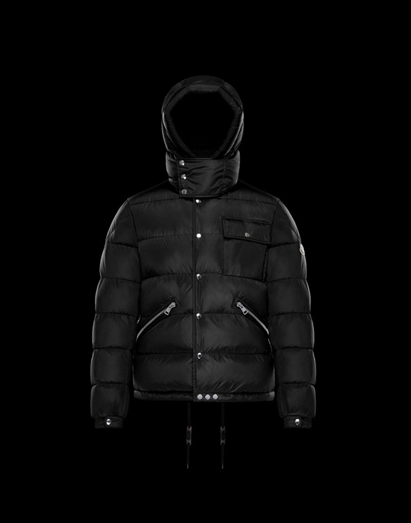 Men Moncler Down Jackets LIORAN Black