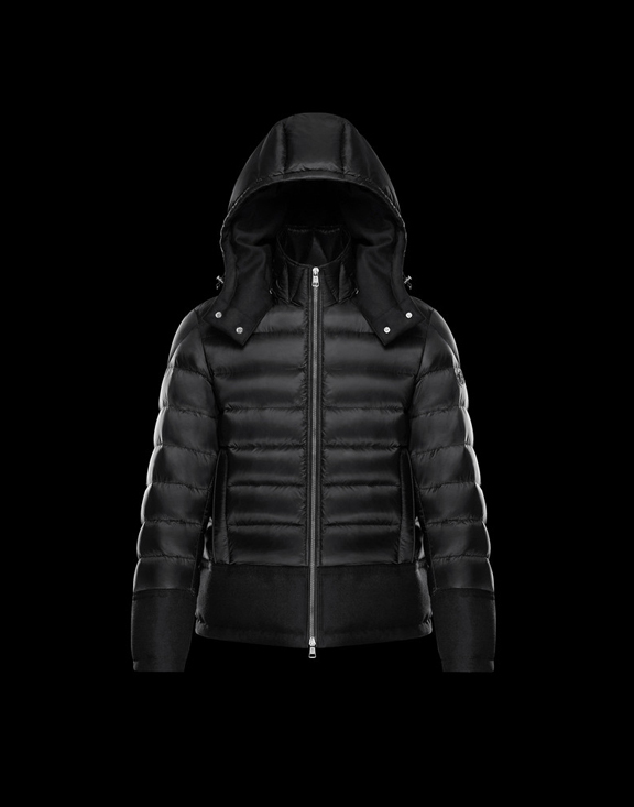 Men Moncler Down Jackets RIOM Black