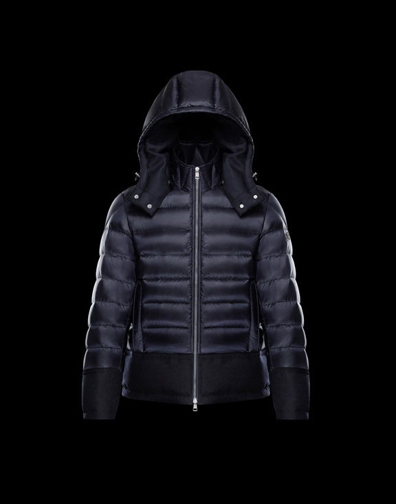 Men Moncler Down Jackets RIOM Dark Blue