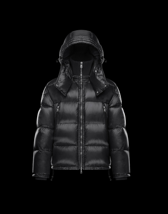 Men Moncler Down Jackets PASCAL Black