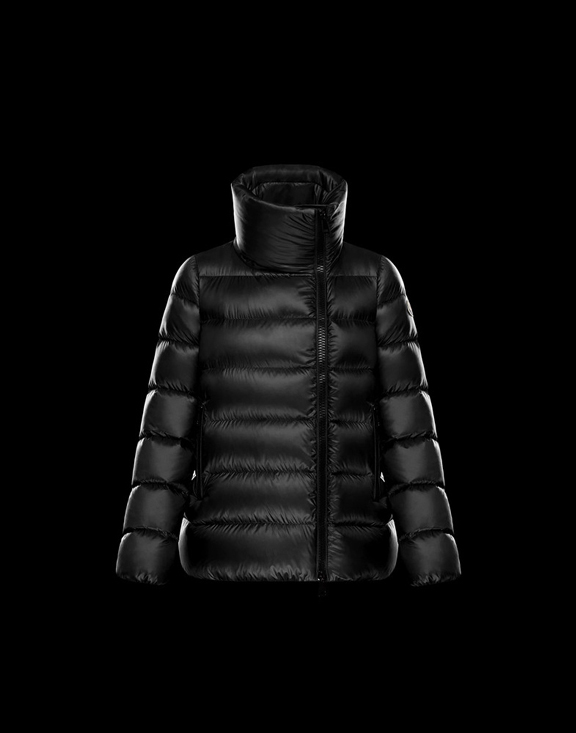 Women Moncler Down Jackets SALIX Black