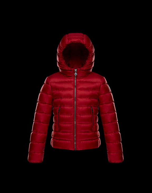 Moncler Kids Down Jackets ADORNE Red