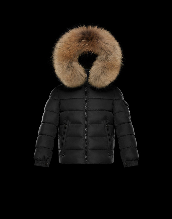 Moncler Kids Down Jackets BYRON Black