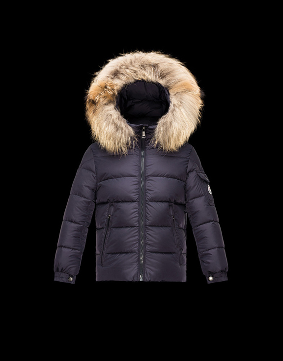 Moncler Kids Down Jackets BYRON Dark Blue