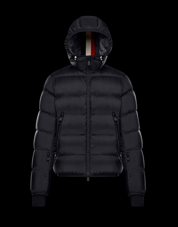 Men Moncler Down Jackets Hintertux Black