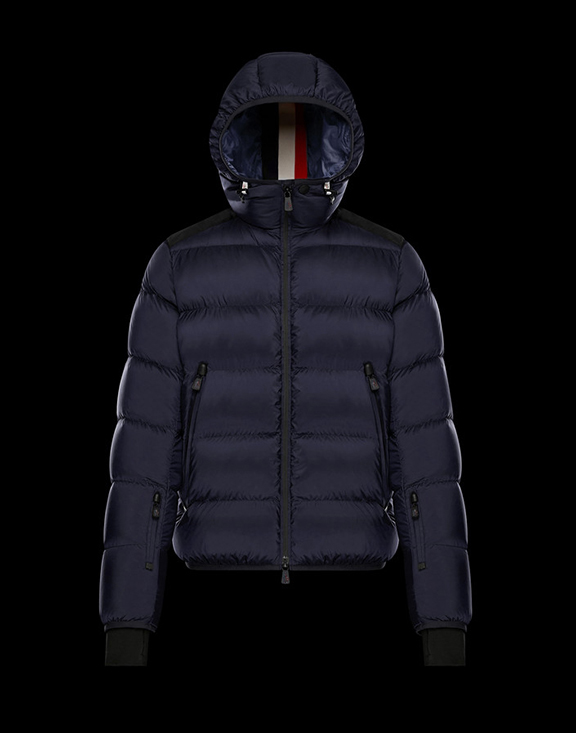 Men Moncler Down Jackets Hintertux Navy